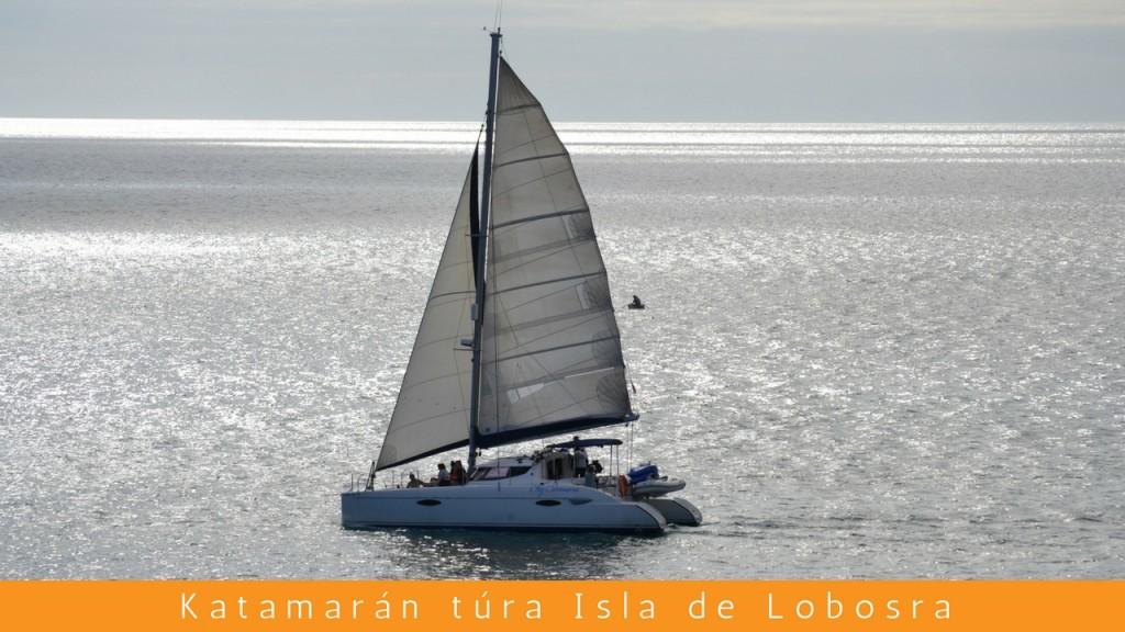 Katamarán kirándulás Isla de Lobosra