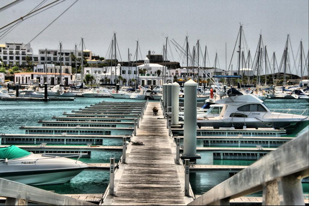 Návšteva trhu a morský život na ostrove Lanzarote