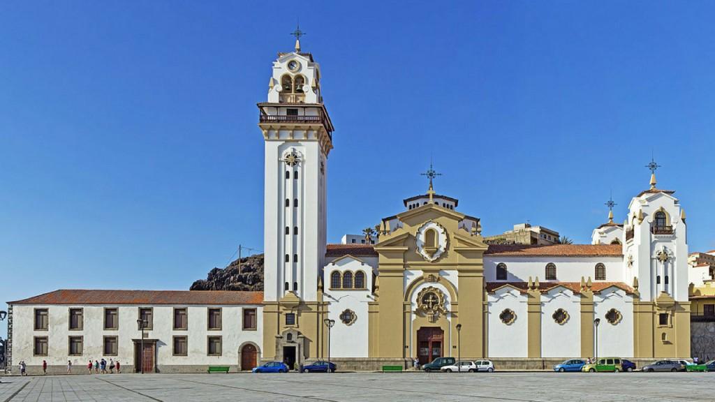 Candelaria, La Laguna, Santa Cruz prehliadka, slovensky
