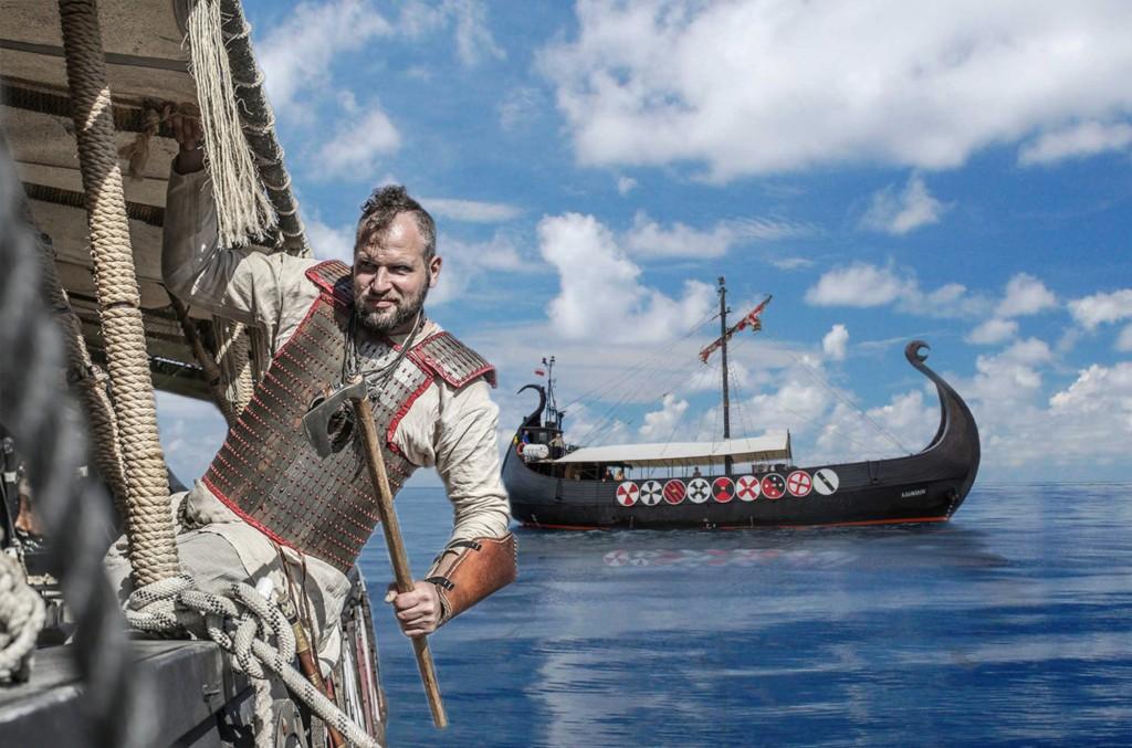Ragnarok Viking hajó bálna- és delfinles