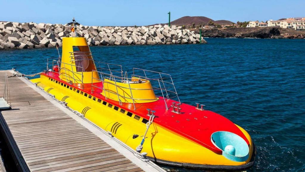 Tengeri élővilág megfigyelése tengeralattjáróval