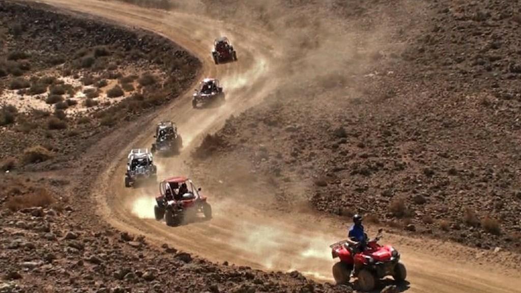 Výlety na štvorkolke v kopcoch Fuerteventura