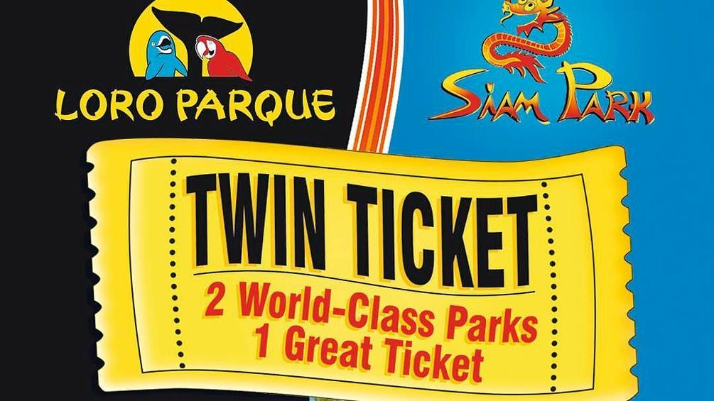 Loro Park a Siam Park Twin Ticket