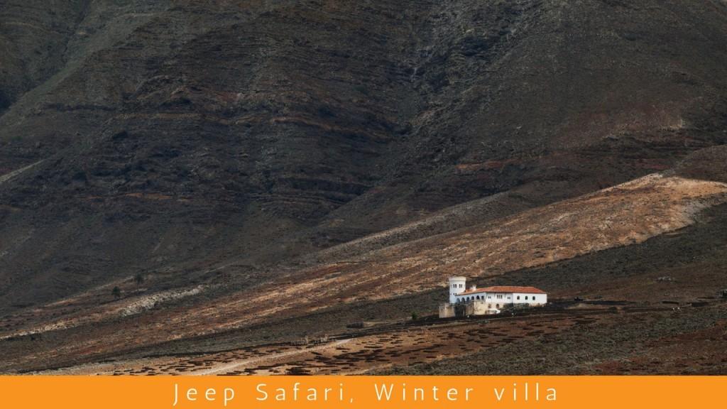 Jeep Safari Cofete (Dél-Fuerteventura)