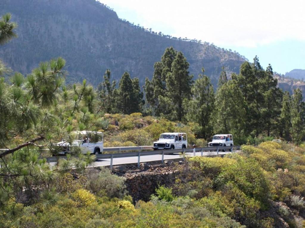 Jeep túra Gran Canaria